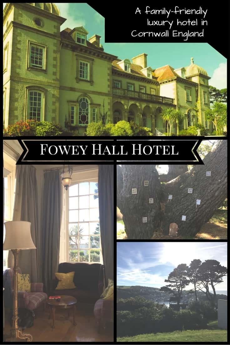 Fowey Hall Luxury Hotel in Cornwall