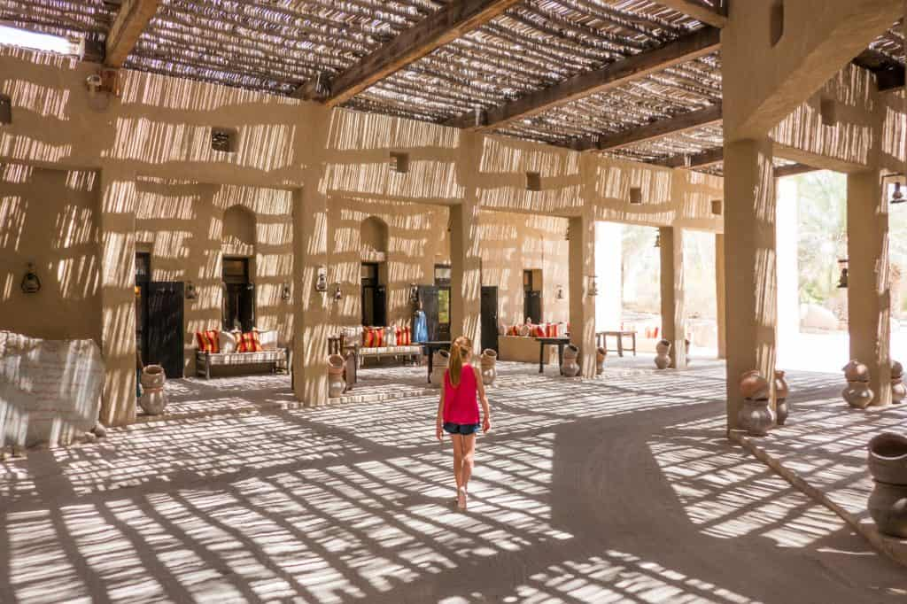 Family Hotel Six Senses Zighy Bay in Oman