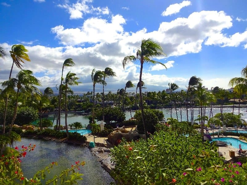 The Hilton Waikoloa, Big Island, Hawaii