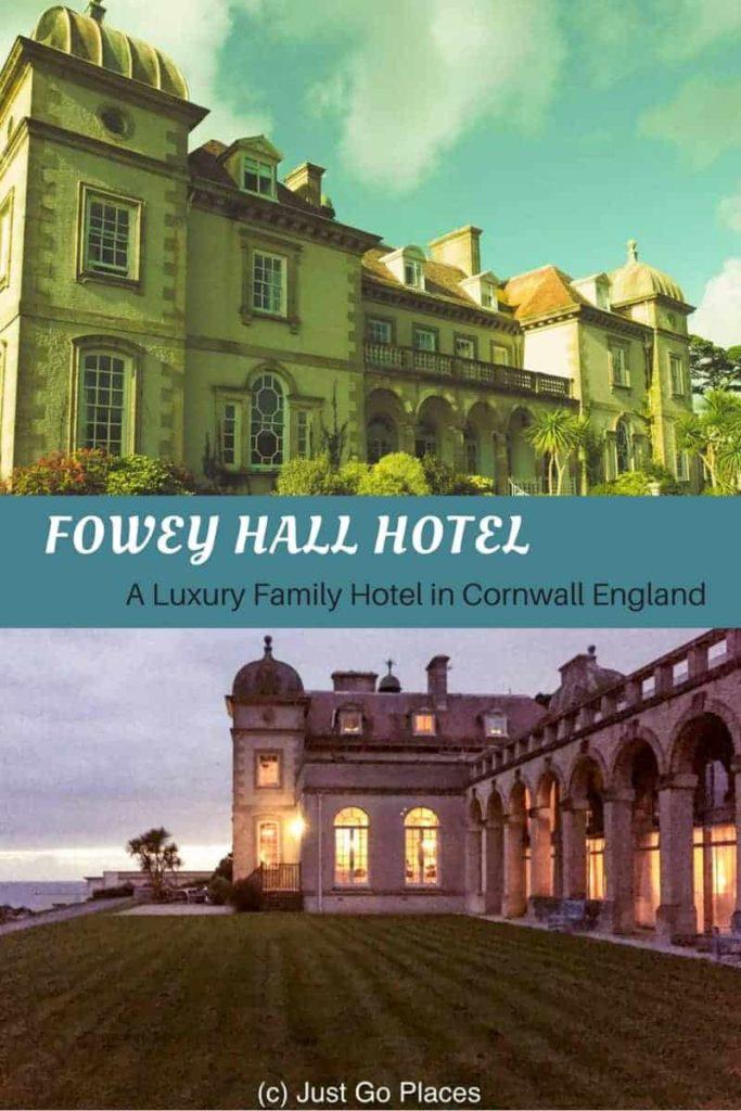 fowey Hall a luxury family hotel in Cornwall