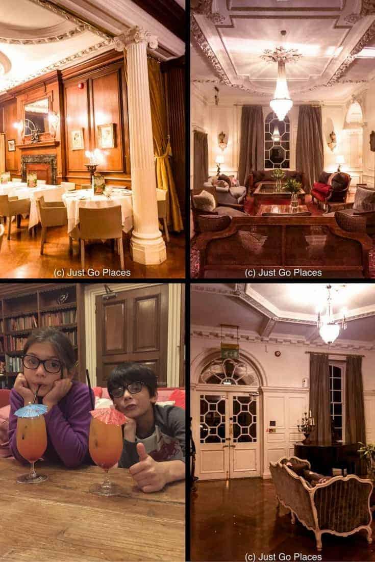 Fowey Hall hotel a family friendly luxury hotel in Cornwall