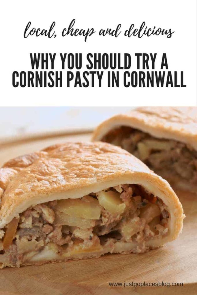 Cornish pasty in Cornwall