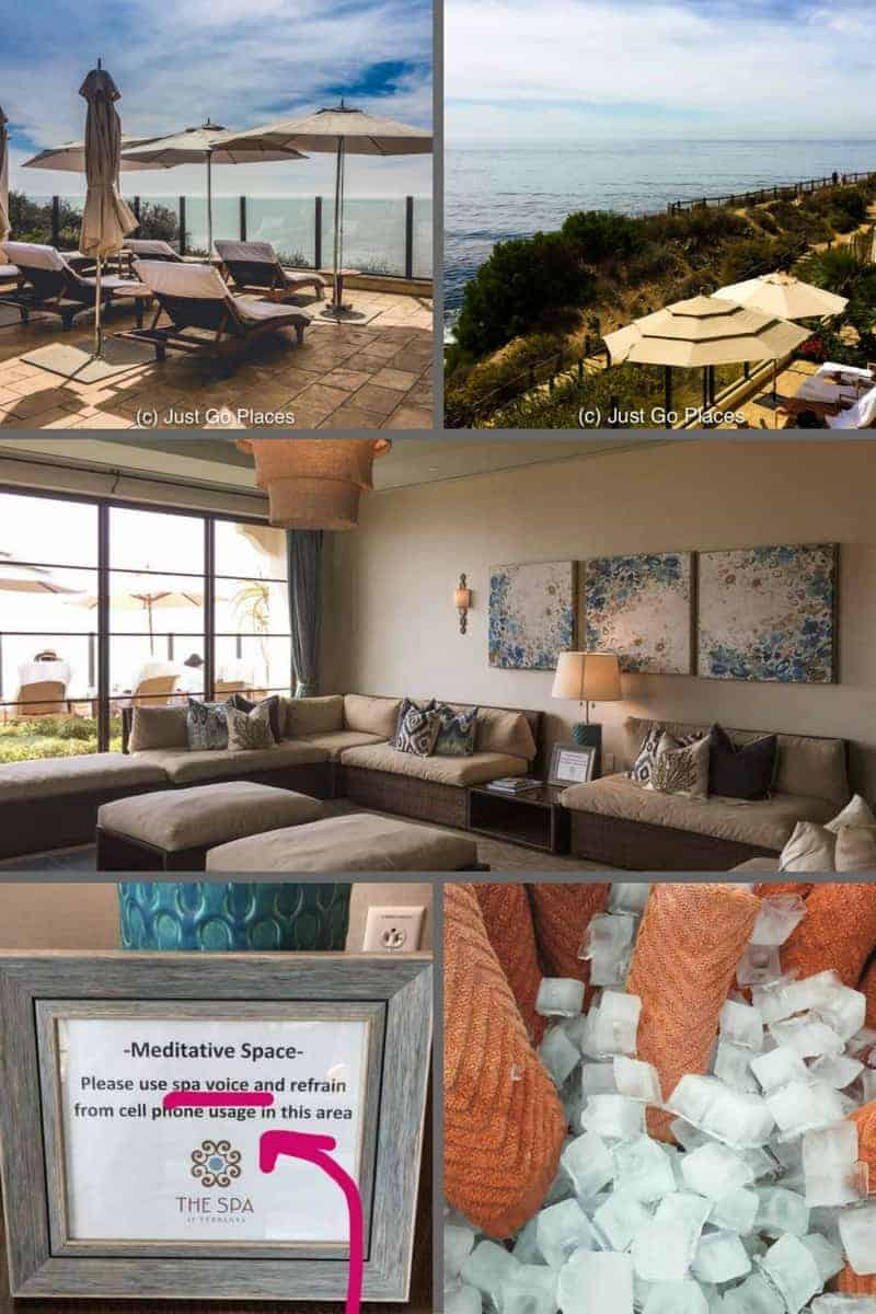 The Terranea spa in Palos Verdes, Los Angeles County