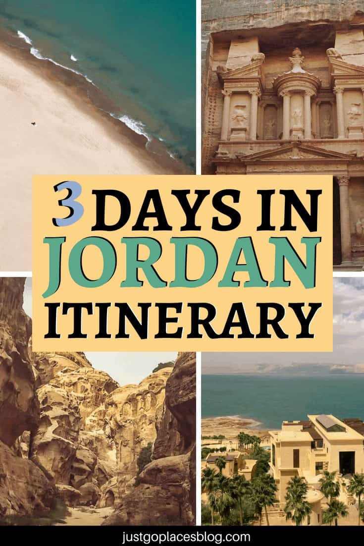 Jordan is such a beautiful country! But what if you have limited time? Discover the 12 best things to do in Jordan if you only have 3 days. A list of the 12 best places to visit in Jordan which includes Petra, Amman, and the Dead Sea in a 3 days Jordan itinerary. #Jordan #middleeast #itinerary #petra