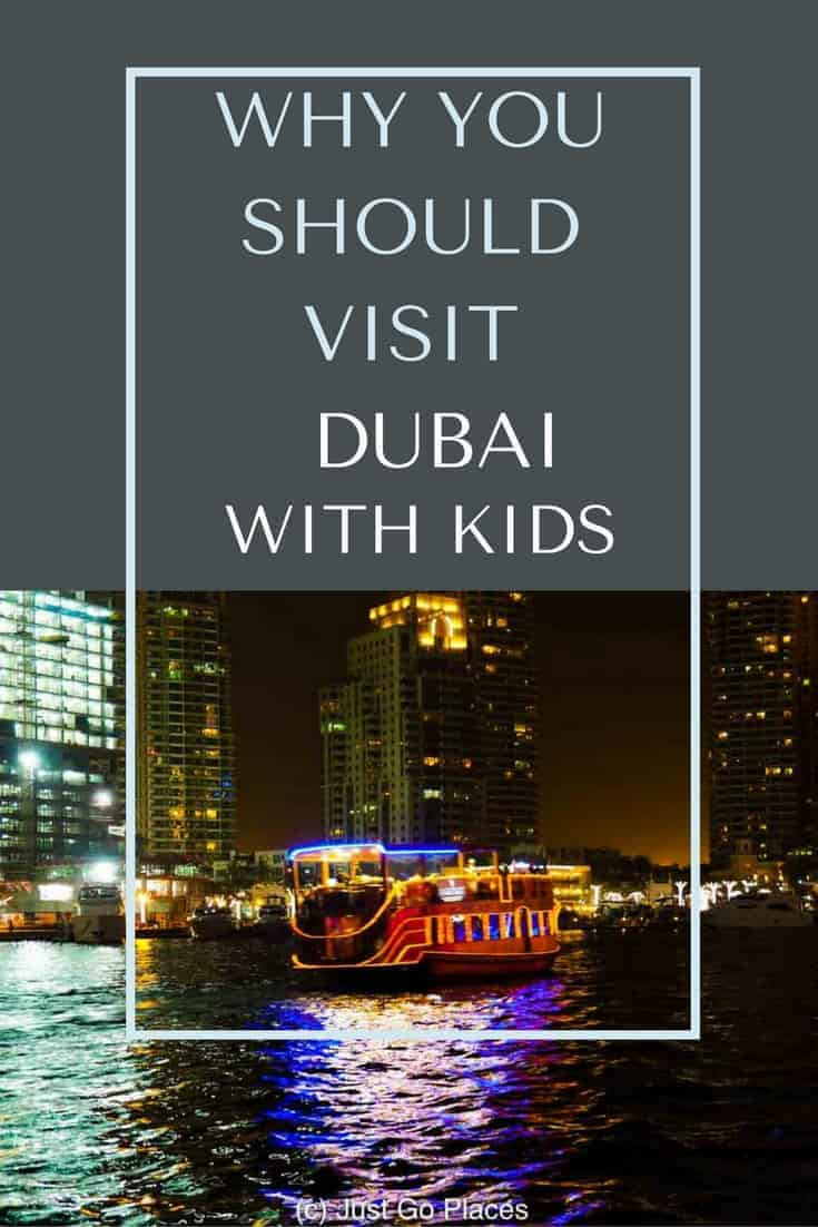 5 reasons to take a family holiday to Dubai for winter sun