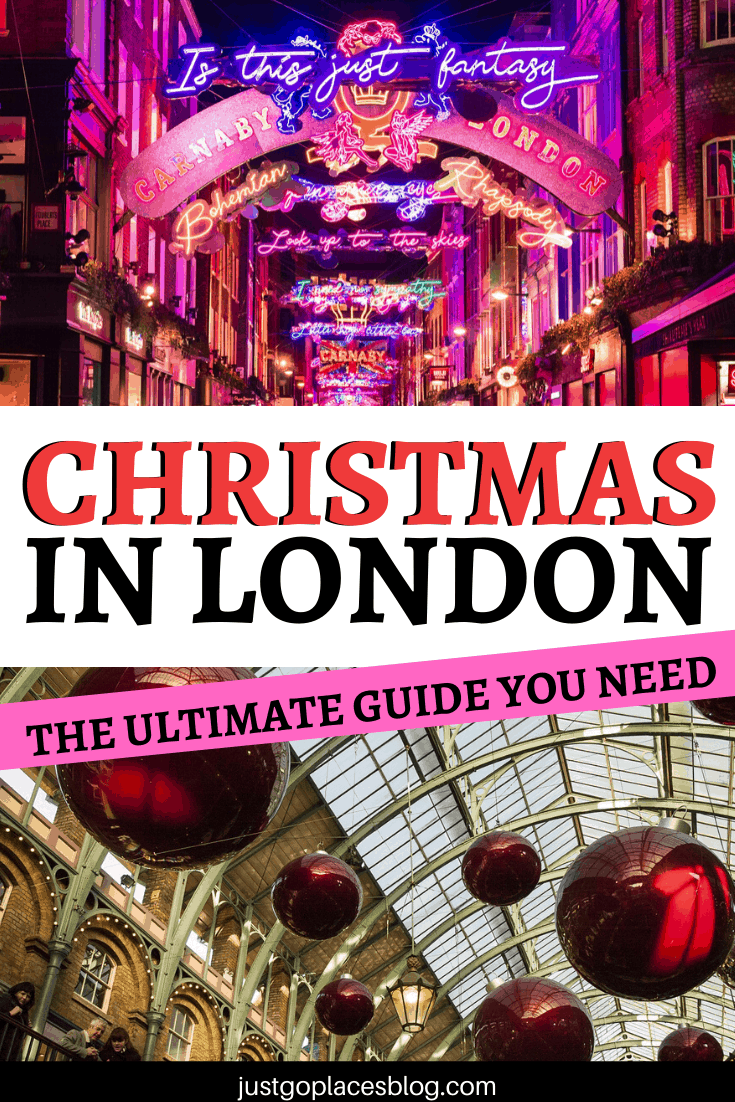 Christmas in London ultimate guide
