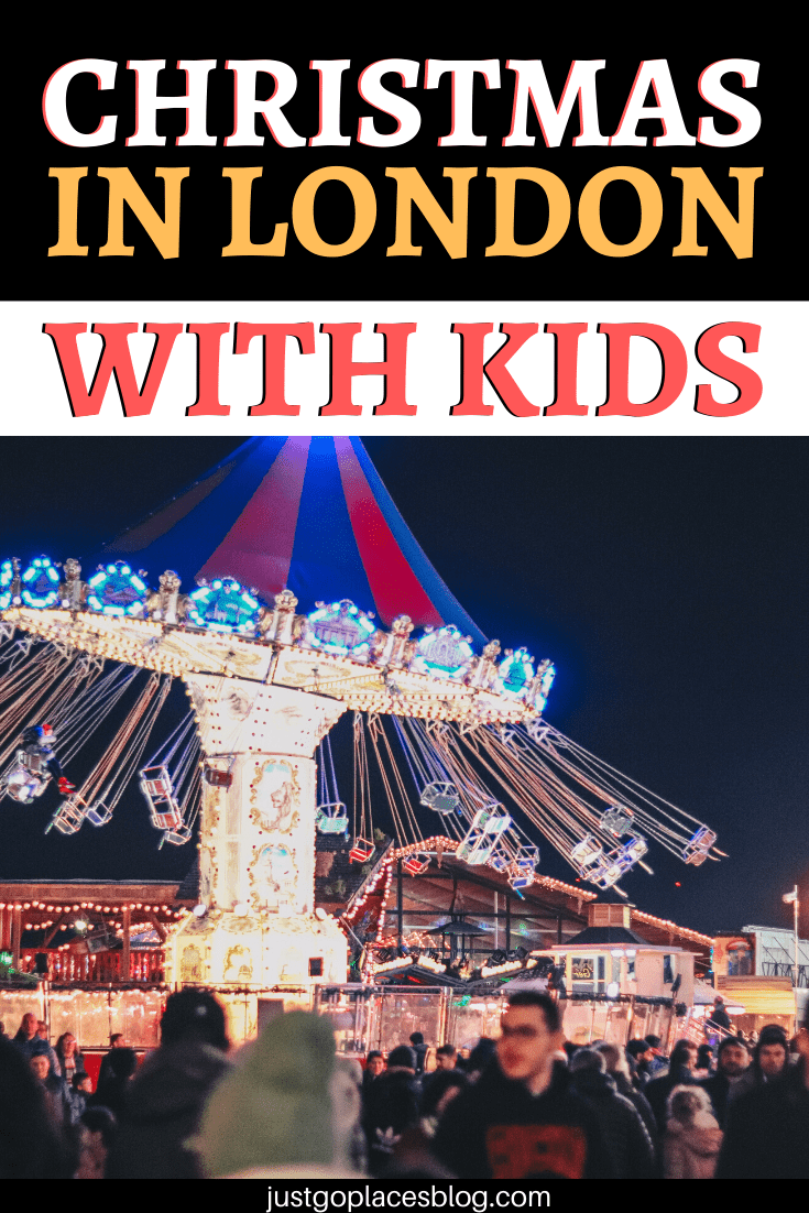 Christmas in London with kids