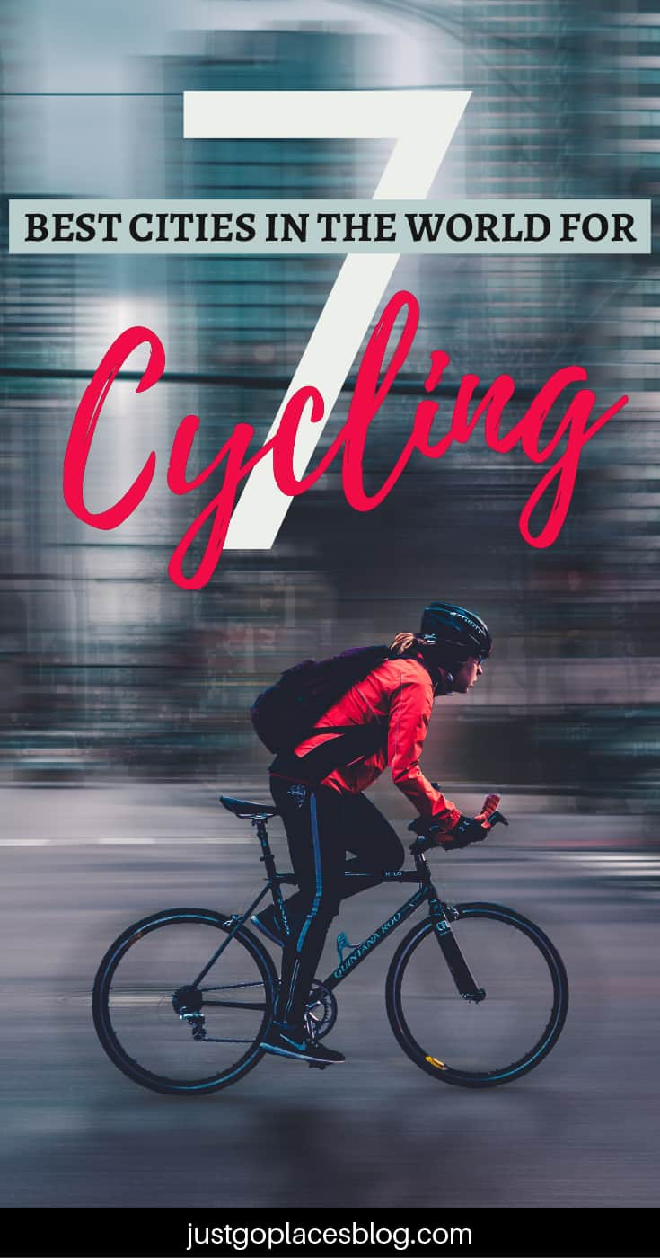Biking around a city and explore it on two wheels is one of the best ways to move around. Here you'll find a list of 7 cities with child-friendly cycle routes in the world so you can go with the whole family. It includes some cities you probably imagined (London) and some you'd have never guessed…#cycling #biking #cycleroutes