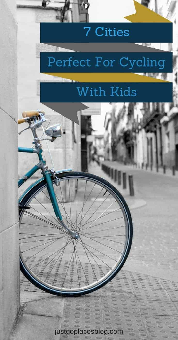 7 cities with child friendly cycle paths for family cycling