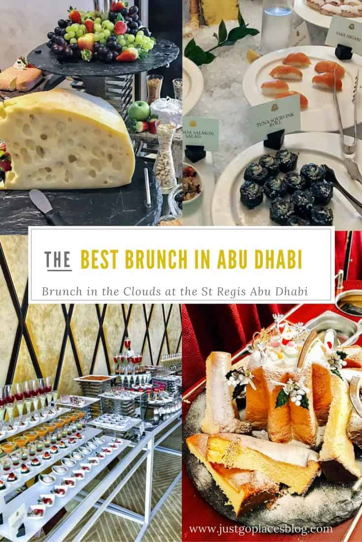 Best Brunch in Abu Dhabi at The Brunch in the Clouds St Regis Abu Dhabi