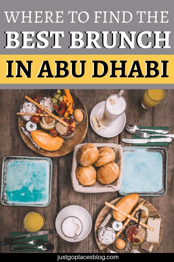 Is Brunch in the Clouds at the St. Regis Hotel in Abu Dhabi the best brunch in Abu Dhabi? We thinks so: discover why you should add it to your list of things to do in Abu Dhabi and why it's one of the best Abu Dhabi luxury experiences. #brunch #abudhabi #uae #foodie #restaurants #foodiereview
