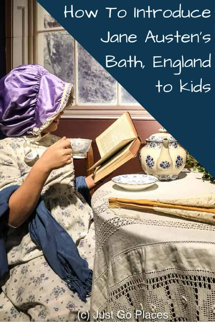 Visiting Jane Austen's Bath with Kids