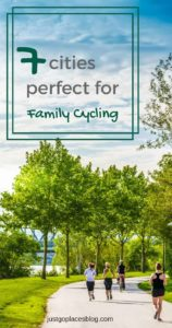 a city with child friendly cycle routes for family cycling
