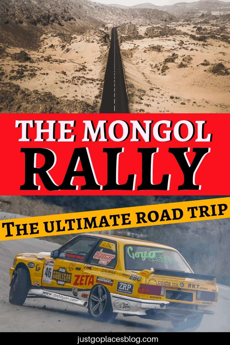 The Mongol Rally is the ultimate road trip but it's definitely not for the fainted heart! Learn all about the mongol rally (how to participate, what it is, and tips and tricks) in this interview to a previous participant to this incredible roadtrip through Europe and Asia! #mongolrally #rally #rallycar #europe #asia #mongolia