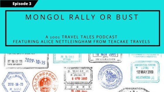 The ultimate road trip is the Mongol Rally that runs from England to Russia