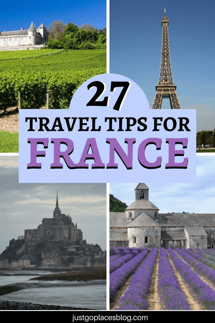 Heading to France for the first time? Take a look at these travel tips from 27+ trips to France: you'll find lots of France travel tips & tricks that will help you have a great trip. Includes where to go in France, France must sees and practical tips. #france #traveltips #traveling #podcast