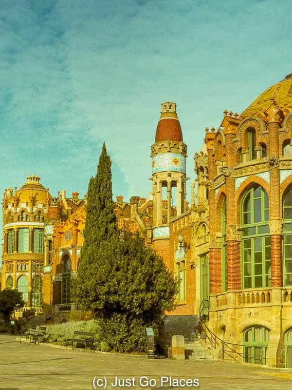 The Hospital de Sant Pau, Art Nouveau Barcelona Architecture Beyond Gaudi