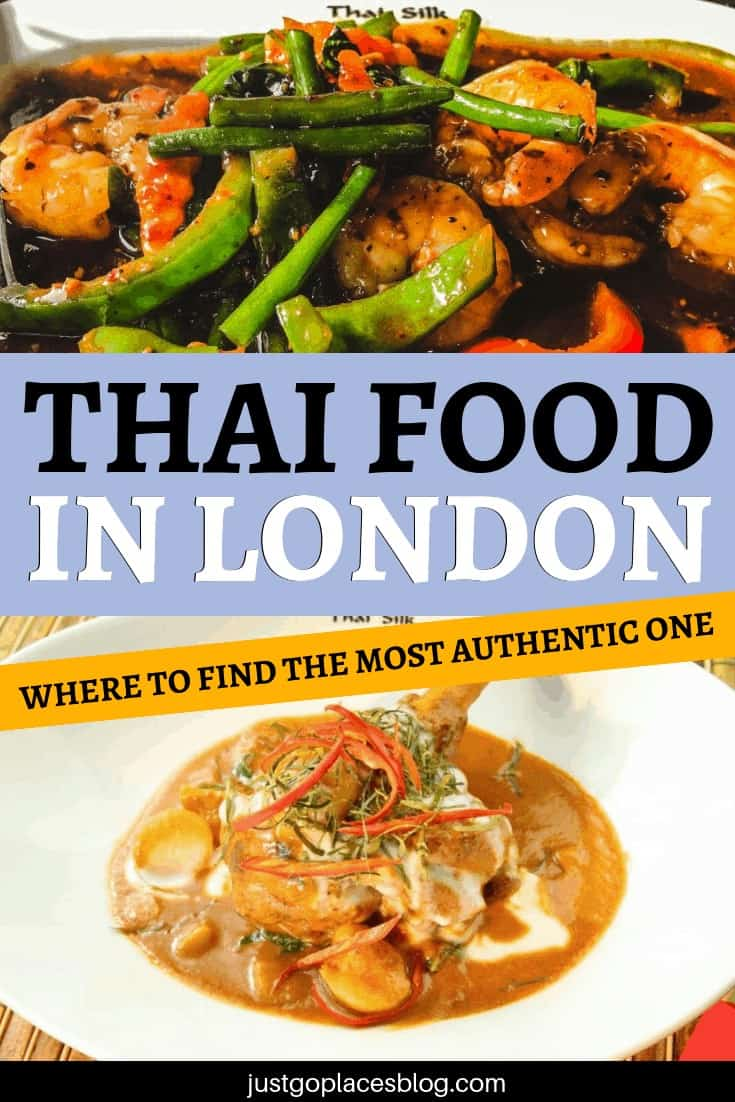 Looking for some yummy Thai food in London? Discover why the Thai Silk restaurant might be the best London thai restaurant. Discover what makes this London Thai food so good in one of London best restaurants. #thaifood #thai #londonrestaurant #london #londonengland #foodie
