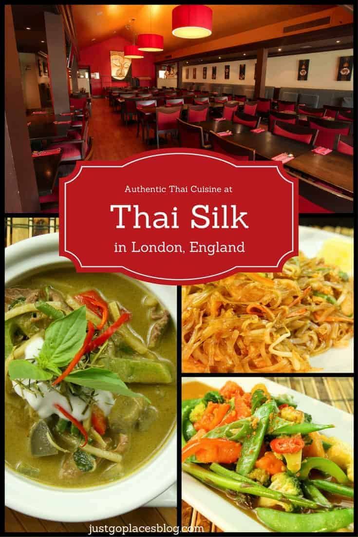 Thai Silk Southwark, An Authentic Thai Restaurant in London
