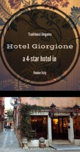Traditional Elegance at the 4 Star Hotel Giorgione Venice Italy