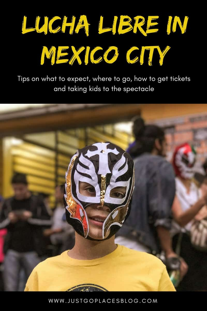 All You Need To Know To Watch Lucha Libre in Mexico City with kids