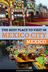 Traveling to Mexico City with kids? Discover why a trip to Xochimilco (Parque Xochimilco or Xochimilco Park), Mexico City, is a great way to spend a day with your family. The colored boats and the flowers make this a very happy place and one you shoukld add to your list of things to do in Mexico City. #Xochimilco #MexicoCity #mexico #kidfriendly