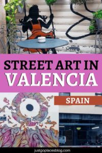 Why Valencia, Spain, should be on your itinerary if you are a street art lover. Click for a Valencia street art guide + images of street art graffiti that'll make you want to buy your ticket to Valencia asap and check these Valencia graffiti. #valencia #valenciastreetart #streetart #graffiti #spain