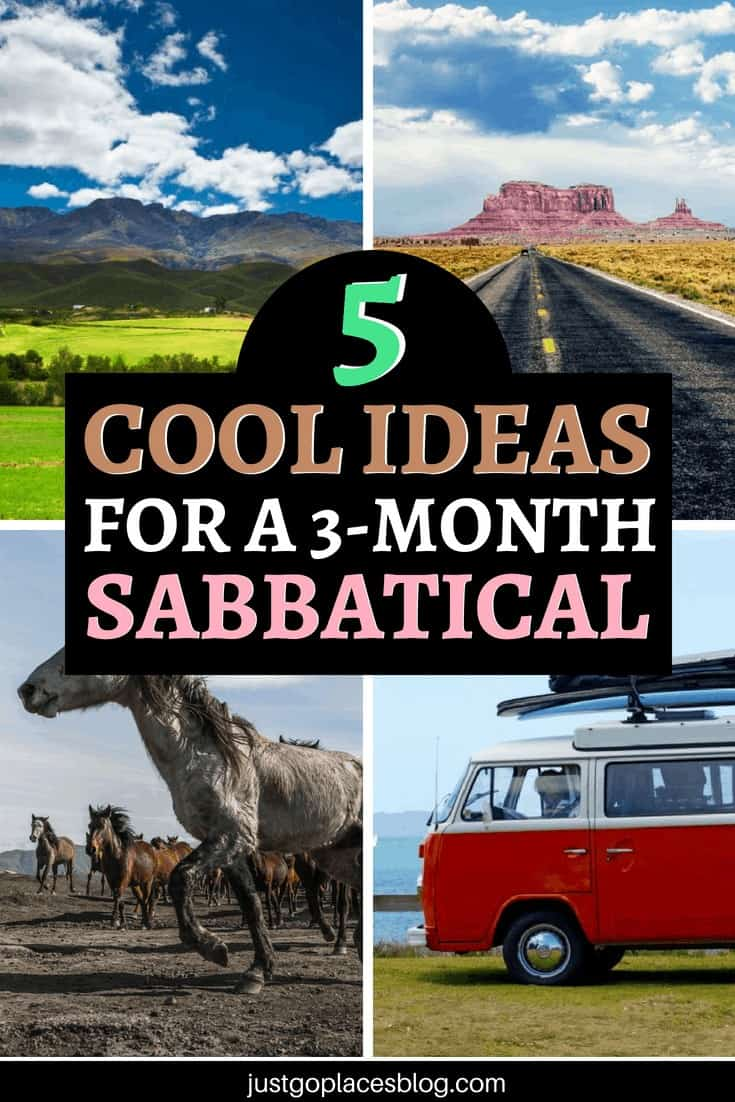 Tired and bored of the traditional family holiday? Check these unusual three month sabbatical ideas for a family escape from reality including travel New Zealand in a Camper Van, Road Tripping the USA, the Mongol Rally and much more!!! No better way to spend a 3-month sabbatical with the family. #FamilyTravel #TravelWithKids #FamilyItinerary #sabbatical