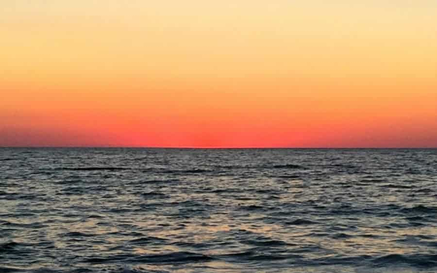 A Captiva Island Florida sunset