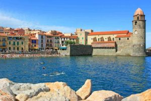 Collioure in Languedoc-Roussillon region France – Full Suitcase