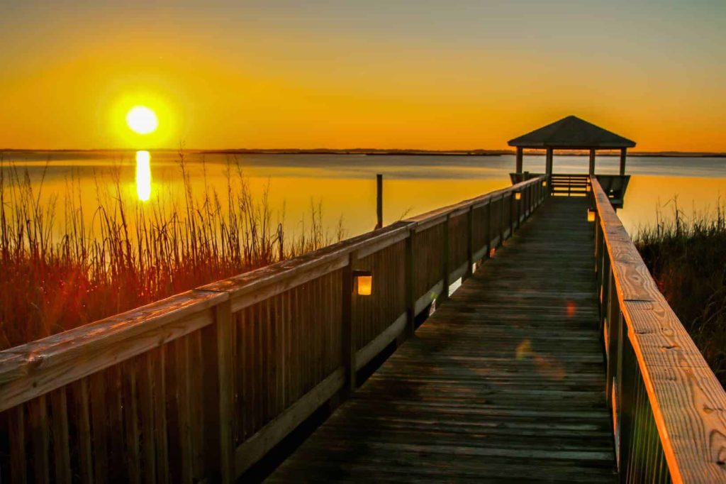 Sunset in Outer Banks, North Carolina | Southern States Road Trip | #DeepSouth #OBX