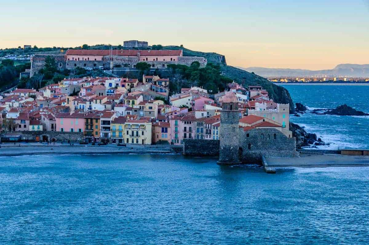 collioure in the Languedoc Rouissilon