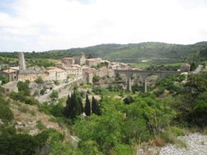 The Town of Minerve near Carcassone