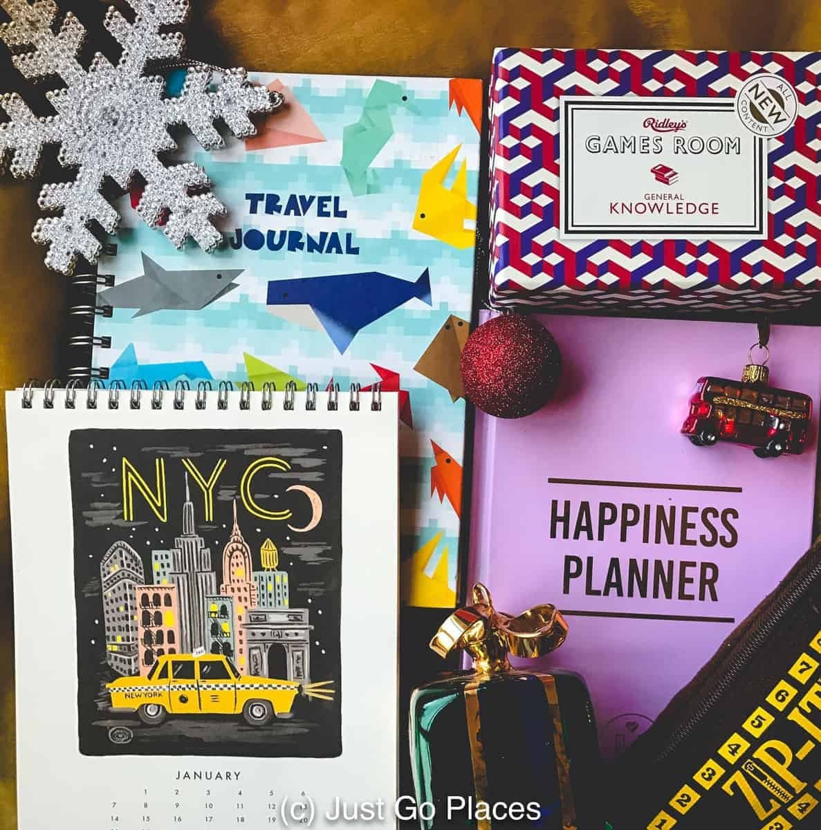 Small Gift Ideas and Stocking Stuffers For Travel Loving Family and Friends