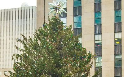 Swarovski Annual Snowflake Ornaments Bring the Sparkle of the Christmas Tree in Rockefeller Center To Your Home