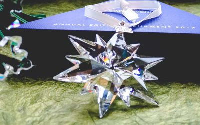 A Christmas Collection of Swarovski Annual Snowflake Ornaments