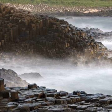 Discovering the delights of the Antrim Coast's Causeway Coastal Route on a Northern Ireland Roadtrip along with a weekend in Belfast #Belfast #NorthernIreland #loveIreland #visitIreland #northernIreland #antrim #causewaycoast #discoverNorthernIreland #giantscauseway