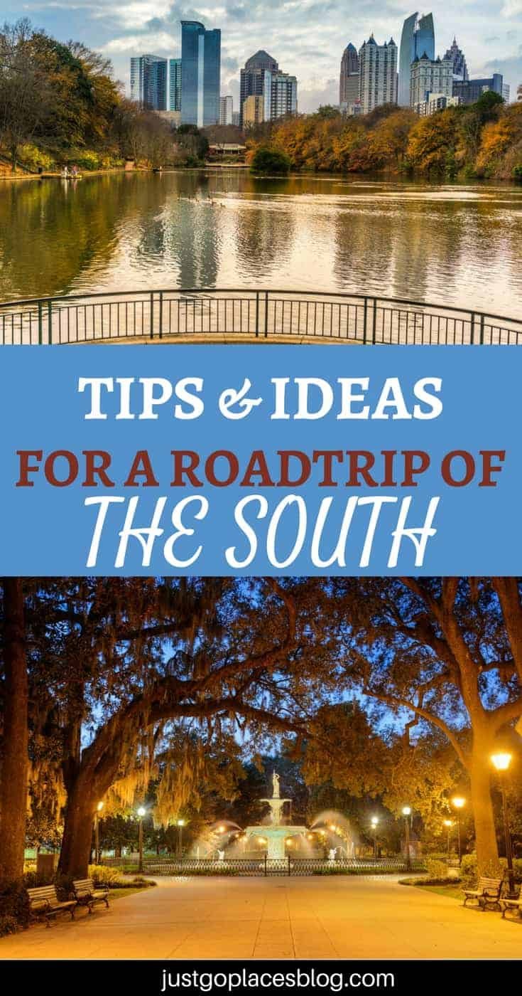 The Best Tips and Ideas for Your Southern USA road trip Deep South Usa Map on