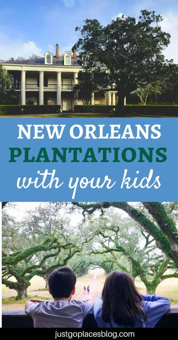 New Orleans Plantation Country with kids | New Orleans Plantation Country | Louisiana plantation homes | Oak Alley Plantation tour | #roadtripUSA #visitLouisiana #DeepSouth #NOLAplantations #OakAlleyPlantation