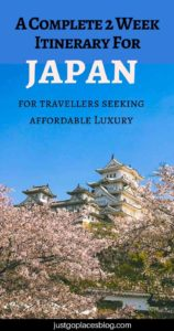 A Complete 2 Week Japan Itinerary for Travellers Seeking Affordable Luxury (Including With Kids)