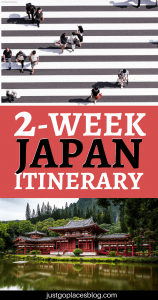 2 weeks in Japan is not nearly enough to see all this amazing country has to offer, but it's enough to fall in love with Japan. Check out the perfect two weeks Japan itinerary: it includes Osaka, Tokyo, Kanazawa and Kyoto and amazing views like the cherry blossom in Osaka! This itinerary is perfect for visiting Japan with kids, but adults will love it as well! #japan #itinerary #travelling - via @justgoplaces