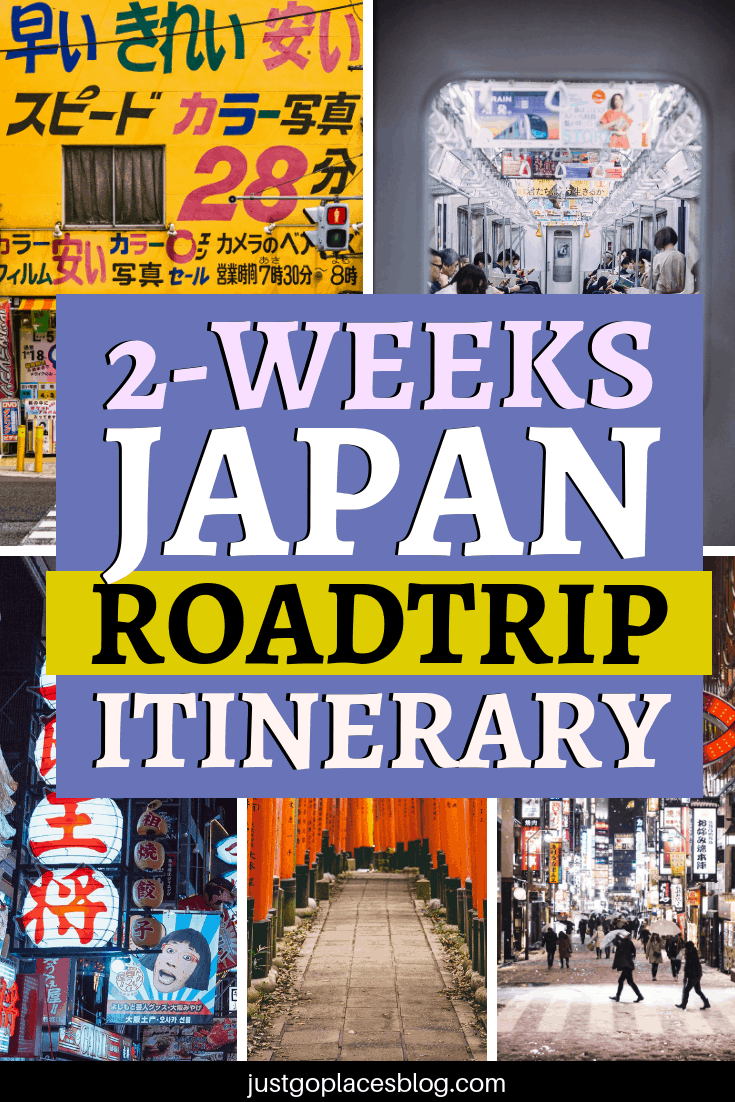 2 weeks in Japan is not nearly enough to see all this amazing country has to offer, but it's enough to fall in love with Japan. Check out the perfect two weeks Japan itinerary: it includes Osaka, Tokyo, Kanazawa and Kyoto and amazing views like the cherry blossom at Mt Yoshino! This itinerary is perfect for visiting Japan with kids, but adults will love it as well! #japan #itinerary #travelling