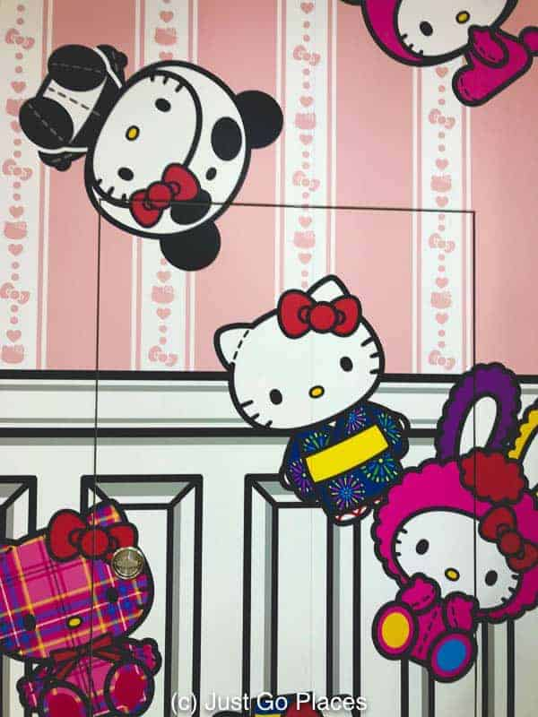 Hello Kitty mural