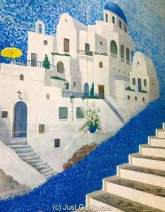 The Kowakien Yunessun Mediterranean decor