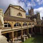 The historic Roman Baths which you can tour.