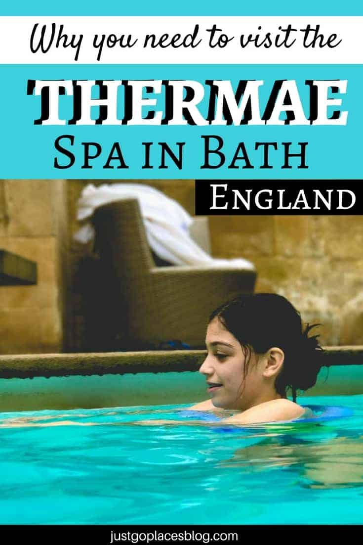 Children from the age of 12 are allowed in the Cross Springs Spa in Bath England