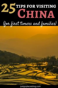 25 tips for first time and family visitors to China