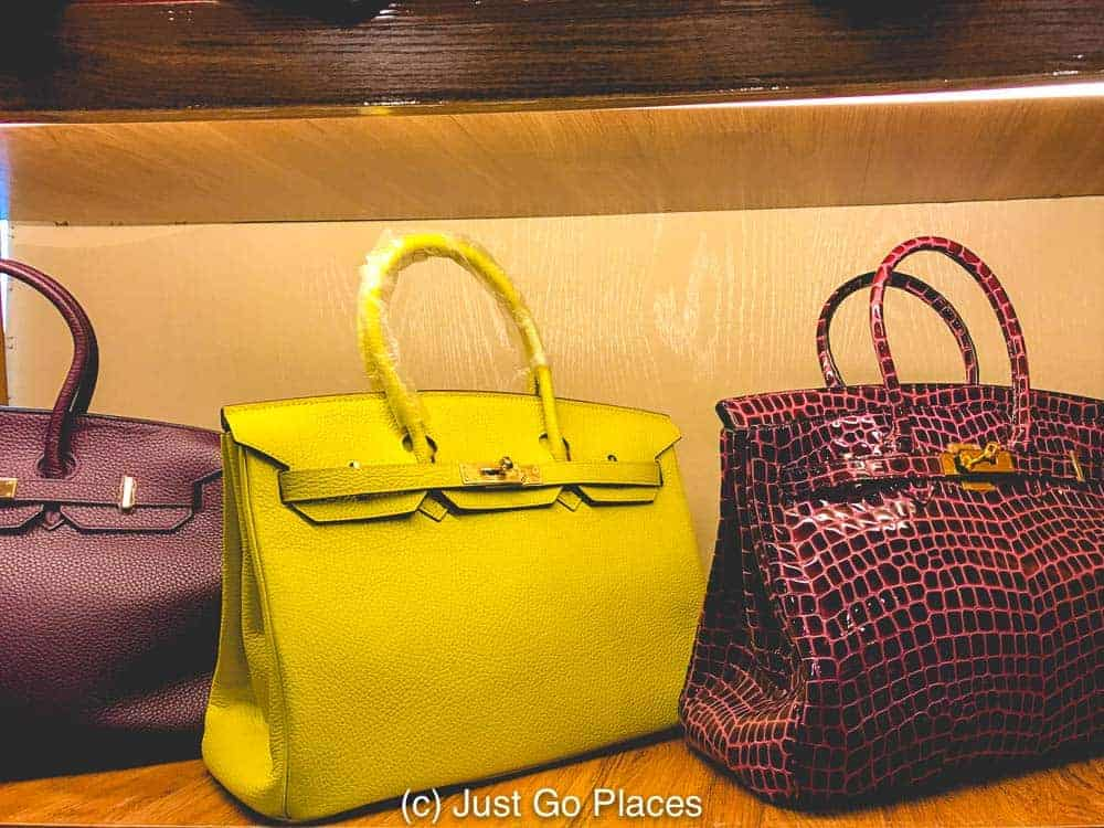 If you think these are real Hermes Kelly bags, I've got a bridge I want to sell you.