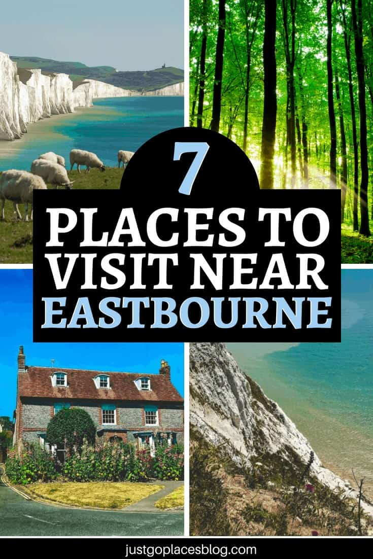The South Downs National Park, England, is a great destination for a England road trip with Europcar UK, and the area of Eastbourne offers so much for a long weekend away in the English countryside. A few things to do in Eastbourne and around include Beachy Head East Sussex, the Seven Sisters Cliffs and much more… check out this England itinerary! #uk #eastbourne #roadtrip