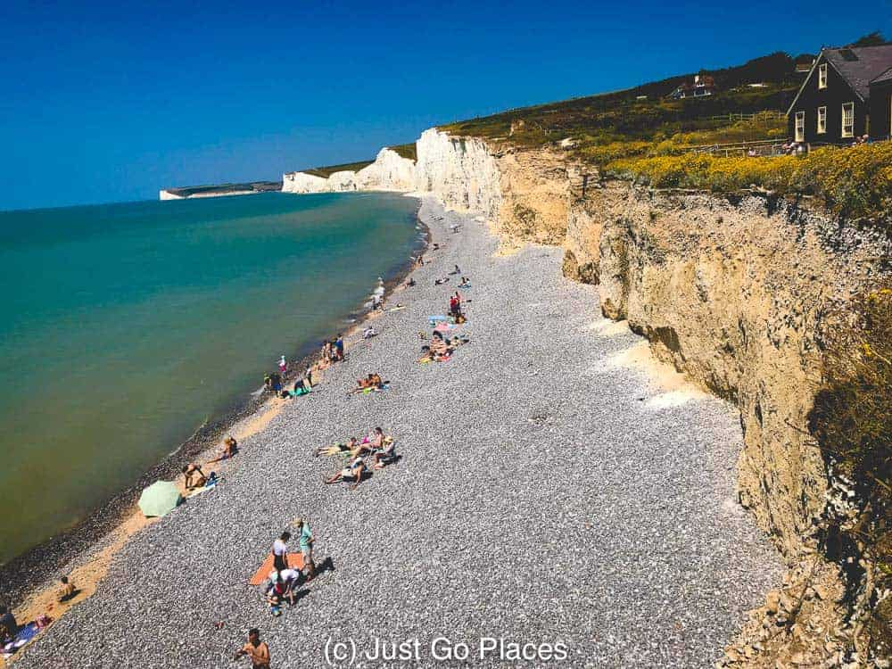 The Seven Sisters Cliffs have also been subject to coastal erosion.